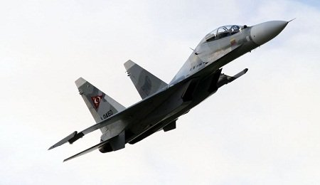 Russia violates Georgian airspace